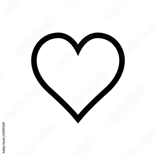 Heart Icon Vector - 151917269