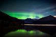 Lights over Mendenhall Glacier