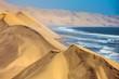 Atlantic huge sand dunes
