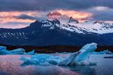 Icebergs in Jokulsarlon glacial lagoon - 151995001