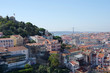 Panoramic view of central Lisbon