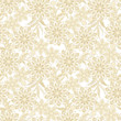 vintage flowers seamless pattern. Ethnic floral vector background - 152030417