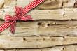 Holz mit Schleife - 152060029