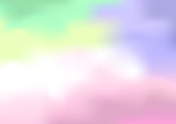 Soft pastel colored abstract background vector