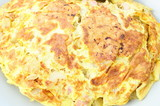 omelette ,lardons,oignon,pomme de terre, - 152161854