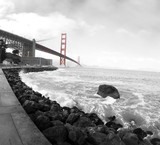 Golden Gate Red Bridge