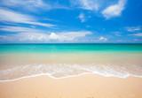 Fototapety beach and tropical sea