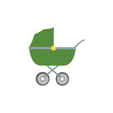 Baby Car Icon Illustration Isolated Vector Sign Symbol
