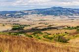 Toskana Feld Panorama Apennin