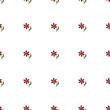 Flowers seamless pattern - 152286400