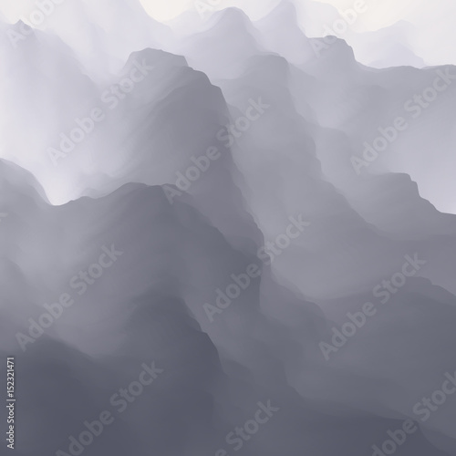 Fototapeta Grey gradient abstract background. Vector Illustration for design.