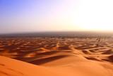 Beautiful desert in sahara