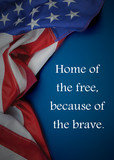 United States flag c...