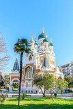 Russian Orthodox Cathedral in Nice