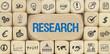Research / Würfel mit Symbole