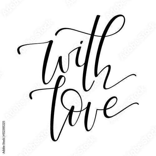 Póster Con tarjeta de amor