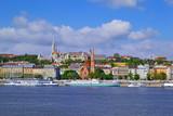 Budapest - Quartiere del Castello visto dal Parlamento
