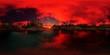 beautiful 360 panorama of a palms beach of an island