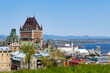 Old Quebec City on the St Lawrence River
