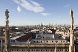 Milano dalle terrazze del Duomo