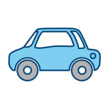 car vehicule draw vector icon illustration graphic design