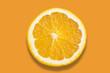 Orange on colorful background - 152619654