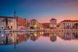 Split. Beautiful romantic old town of Split during beautiful sunrise. Croatia,Europe. - 152620827