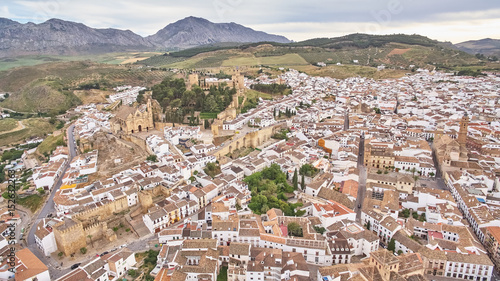 Antequera village in Malaga, Spain