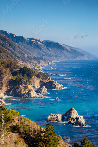 Foto op Plexiglas Landschappen Big Sur, California Central Coast, USA