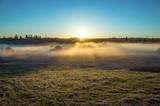 Morning in the Russian village in may, Vladimir region - 152655425