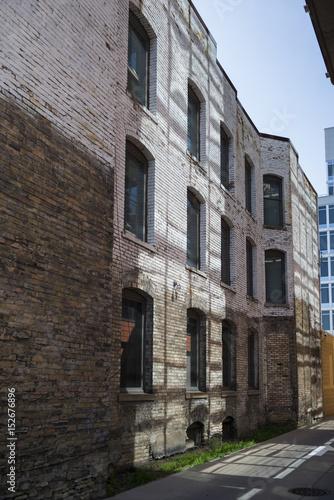 Buildings along street, Minneapolis, Hennepin County, Minnesota, USA