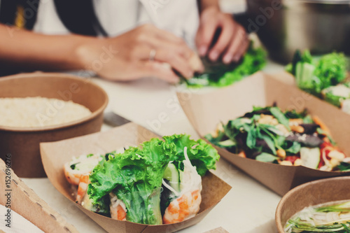 Street food festival, delivery, catering service
