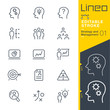 Lineo Editable Stroke - Strategy and Management outline icons