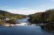 Boenfossen, the waterfall at Boen, in the popular salmon river Tovdalselva, in Kristiansand, Norway - 152765444