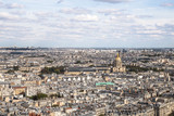 Panorama of Paris - view from the Eiffel Tower
