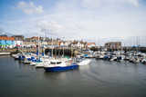 A view of the harbour at Anstruther, Fife, East Neuk, Scotland - 152791885