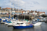 A view of the harbour at Anstruther, Fife, East Neuk, Scotland - 152792047