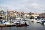 A view of the harbour at Anstruther, Fife, East Neuk, Scotland - 152792413