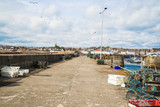 A view of the pier and harbour at Anstruther, Fife, East Neuk, Scotland - 152792874