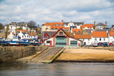 The Lifeboat station at Anstruther, Fife, Scotland - 152793056