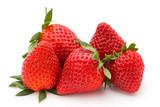 Strawberry isolated on white background. Fresh berry. - 152818031