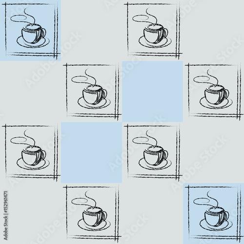 kawy-kubek-kredowy-wegiel-drzewny-bezszwowy-wzor-ilustracji-wektorowych
