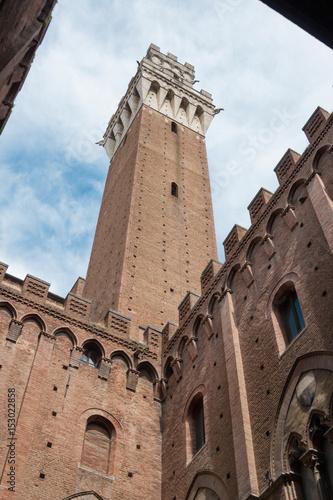 Torre del Mangia. Siena (Italy)