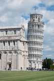 Krzywa wieża w Pizie. Piza (Włochy)
