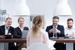 Woman on job interview - 153107455