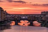Ponte Vecchio, Florence at sunset