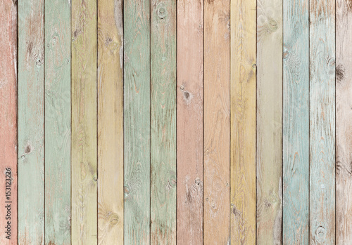 wood planks colored pastel background or texture - 153123226
