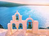 Chapel on Santorini island, Greece.