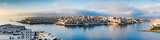 Panorama over Valletta from Sliema
