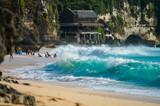 Ocean wave on balinese Dreamland beach